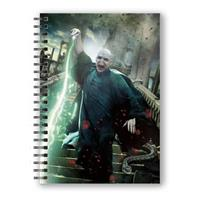 SD Toys Harry Potter Notebook with 3D-Effect Voldemort Poster