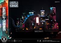 Prime 1 Studio Godzilla vs. Kong Diorama Godzilla vs. Kong Final Battle 80 cm
