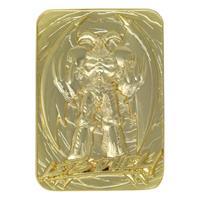 FaNaTtik Yu-Gi-Oh! Replica Card Summoned Skull (gold plated)