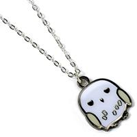 Carat Shop, The Harry Potter Cutie Collection Necklace & Charm Hedwig (silver plated)