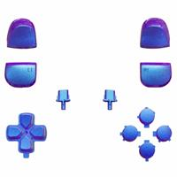 Consoleskins PS5 Controller Buttons - Blauw / Paars Metallic - 11 in 1 Button Set