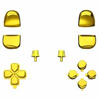 Consoleskins PS5 Controller Buttons - Goud Chrome - 11 in 1 Button Set