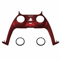 Consoleskins PS5 Controller Behuizing Shell - Rood Soft Touch - Cover Shell