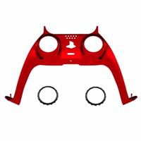 Consoleskins PS5 Controller Behuizing Shell - Rood Chrome - Cover Shell