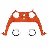 Consoleskins PS5 Controller Behuizing Shell - Oranje Soft Touch - Cover Shell