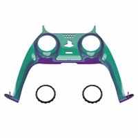 Consoleskins PS5 Controller Behuizing Shell - Groen / Paars Metallic - Cover Shell