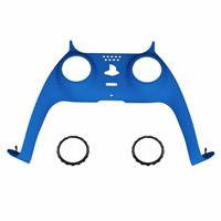 Consoleskins PS5 Controller Behuizing Shell - Blauw Soft Touch - Cover Shell