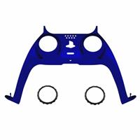 Consoleskins PS5 Controller Behuizing Shell - Blauw Chrome - Cover Shell