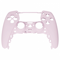 Consoleskins PS5 Controller Behuizing Shell - Lichtroze Soft Touch - Front Shell