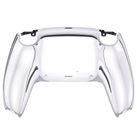Consoleskins PS5 Controller Behuizing Shell - Zilver Chrome - Back Shell