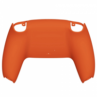 Consoleskins PS5 Controller Behuizing Shell - Oranje Soft Touch - Back Shell