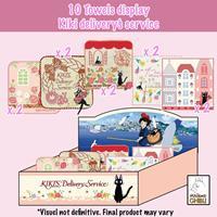 Marushin Kiki's Delivery Service Mini Towels 25 x 25 cm Display (10)