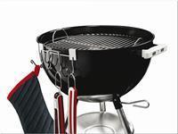 Weber Gereedschapshaken Accessoires voor Houtskoolbarbecues - BBQ kookgerei en kleding - Staal