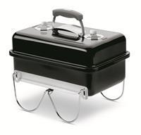 Weber Go-Anywhere Black - Houtskoolbarbecue - Zwart