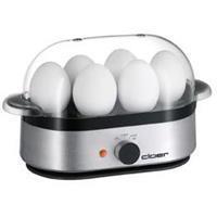 Cloer 6099 alu matt - Egg boiler for 6 eggs 400W 6099 alu matt
