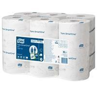Tork toiletpapier SmartOne Mini, 2-laags, 111 meter, systeem T9, pak van 12 rollen