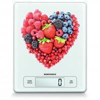 Soehnle 66311 Page Profi Fruit Heart Digitale Keukenweegschaal Wit