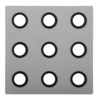 Rosti Mepal Domino onderzetter - grey
