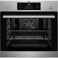 AEG BEB351010M oven met SteamBake en gratis A9OZPS1 pizzasteen