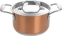 Excellent Houseware pan RVS koper 16 cm