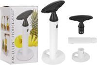 Excellent Houseware Spiraalvormige Ananassnijder