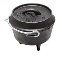 Petromax gietijzeren pan Dutch Oven FT1 - 1,1 liter