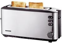 severin AT 2515 eds/sw - Long slot toaster 1000W stainless steel AT 2515 eds/sw AT2515