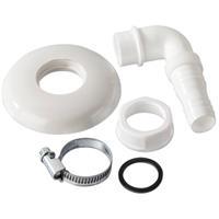 xavax wasmachine accessoire Buis connector voor sifons bevestigd in de muur