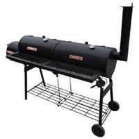 vidaXL Rookbarbecue Nevada XL zwart