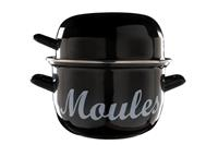Cosy & Trendy for Professional CT Moules Mosselpan Zwart Ø 18 cm