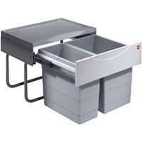 Hailo Tandem S Inbouwafvalemmer 30 Liter