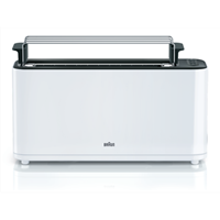 BRAUN broodrooster HT3110 WH wit