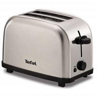 Tefal TT330D11 broodrooster 2 snede(n) Zwart, Roestvrijstaal 700 W