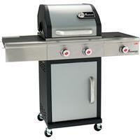 Landmann gasbarbecue Triton PTS3.1 13,5kW zilver