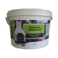 Praxis Decor betonnen barbecue coating wit 8kg