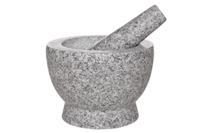 Cosy & Trendy Vijzel met stamper graniet 18 cm Cosy&Trendy