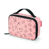 Reisenthel ® thermocase kids cats and dogs roze - Oranje