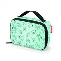 Reisenthel ® thermocase kids cats and dogs mint - Turquoise