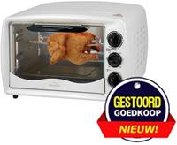 Montiss Oven 1500 W 19 L wit KTO5741M