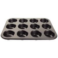 koolstofstalen antikleef bakvorm 12 muffins