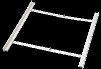 xavax wasmachine accessoire Steun/support tss was-en droogmachine 55-68cm