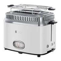 Russell Hobbs Retro Classic Blanc Broodrooster 21683-56