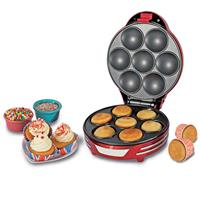 Retro Muffin & Cupcake Maker Party Time Rood