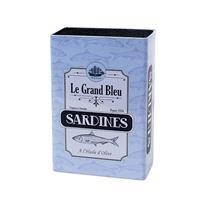 Balvi Sardines Messenblok - Blauw