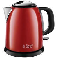 Colours Plus+ Flame Red mini kettle