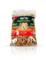 Fire-up Aanmaakblok bruin 192 stuks Fire Up