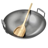 Big Green Egg Carbon Steel Grill Wok ø 40 cm voor Large en Extra Large