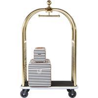 Kare Design VIP Bagage Trolley Vegas