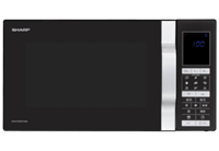 sharp R890BK Combi-Magnetron 28L 900W Zwart/Zilver