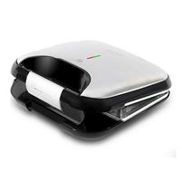 Tosti apparaat Cecotec Rock'nToast Fifty-Fifty 750W Roestvrij staal